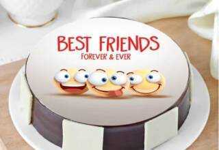 Friendship Day with Delicious cake